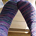 Knittin' Like a Rock Star Handspun Socks