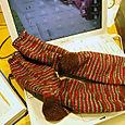Aunt Sylvia's Christmas Socks